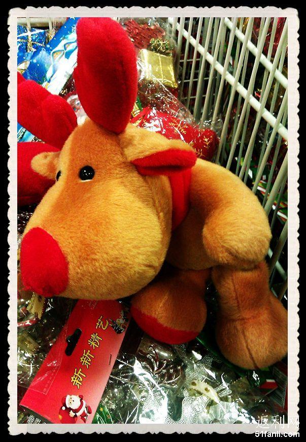 可爱的小麋鹿,毛茸茸的